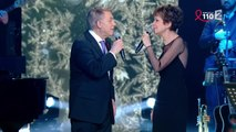 "Catherine Laborde et Salvatore Adamo chantent ""Tombe la Neige"""