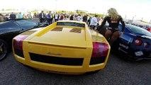 Supercars VS Hot Girls - Ferrari CLA45 AMG LAMBO 458