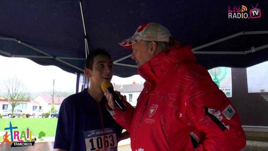 Interview d'un jeune coureur