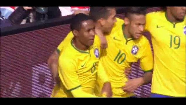 Brazil 1-0 Chile - Goal Firmino - 29-03-2015