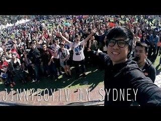 Sydney Tour - JinnyBoyTV Hangouts
