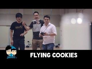 JinnyboyTV Hangout - Flying Cookies
