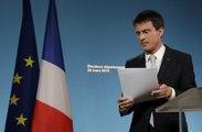 """Manuel Valls : """"La gauche trop dispersée connaît un net recul"""" aux départementales"""