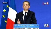 """Nicolas Sarkozy sur le PS : """"Jamais une politique n'avait autant incarné l'échec à tous les niveaux"""""""