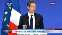 [Vidéo] Nicolas Sarkozy (UMP) : « Ces résultats sont un désaveu sans appel pour la gauche »