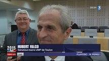 Hubert Falco envahi par l'émotion à la défaite du FN