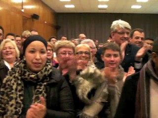 Arnaud Decagny et Françoise Del Piero élus