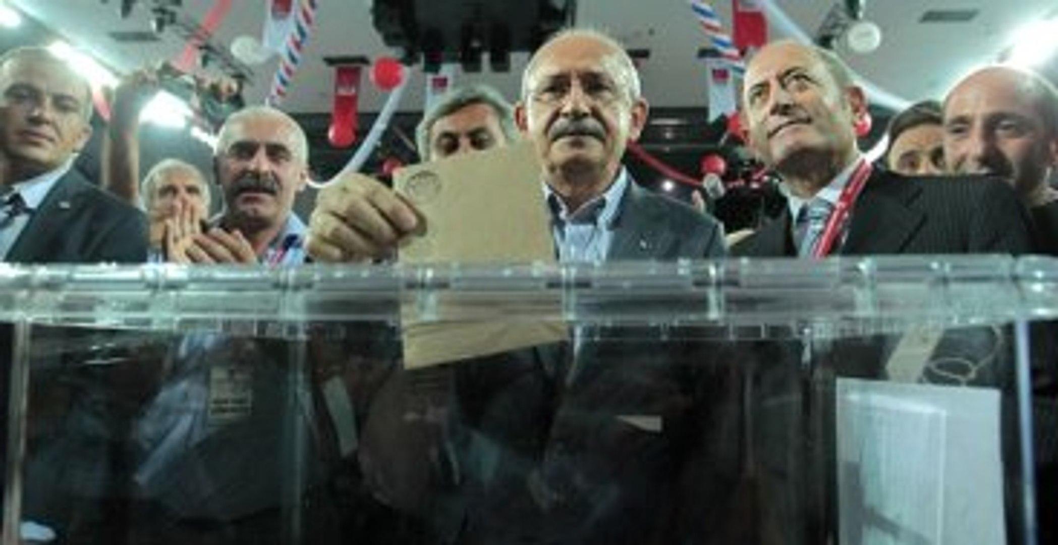 CHP'de Ön Seçim Bitti, Oylar Sayılıyor