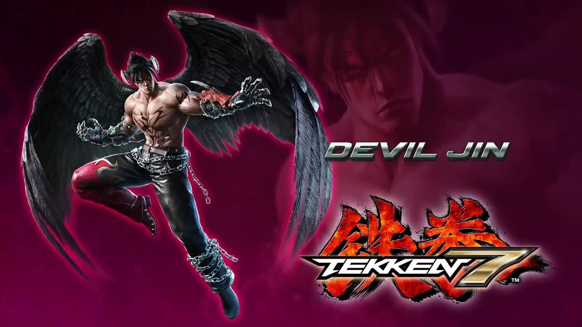 Tekken 7 Devil Jin Reveal Trailer Official Trailer Video Dailymotion