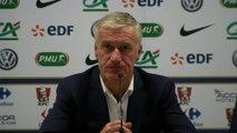 Foot - Bleus : Didier Deschamps «On est premiers du groupe»