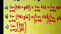 Calculus I - Limits - Evaluating Limits - Examples 1 and 2 - Using Limit Properties