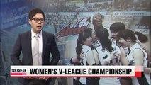 Women's V-League Championship, Korea Expressway vs IBK