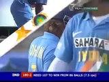 MS Dhoni Attacking Pakistani bowlers India v Pakistan 2006