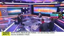 """Départementales : Benoît Hamon fustige """"le baratin"""" du gouvernement"""