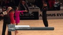 Championnat d'Europe Adultes Latines à AARHUS (Danemark) C.G. Schmitt - E. Salikhova, FRA - 3ème place  2015 European LAT R1 PD   DanceSport Total