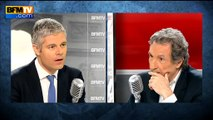 """Manuel Valls """"a massacré les Français en termes d'impôts"""", estime Laurent Wauquiez"""