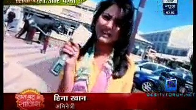 Saas Bahu Aur Saazish SBS [ABP News] 30th March 2015 Video pt2