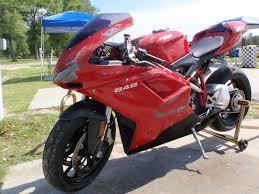 Ducati Panigale Acceleration