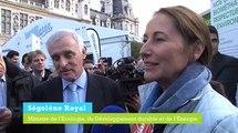 Ségolène Royal s'est rendue au 12e Forum international de la météo et du climat