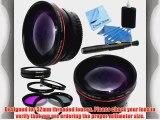Professional 52mm Lens Kit for Nikon 35mm f/2D AF NIKKOR Autofocus Lens: Includes 0.45x High