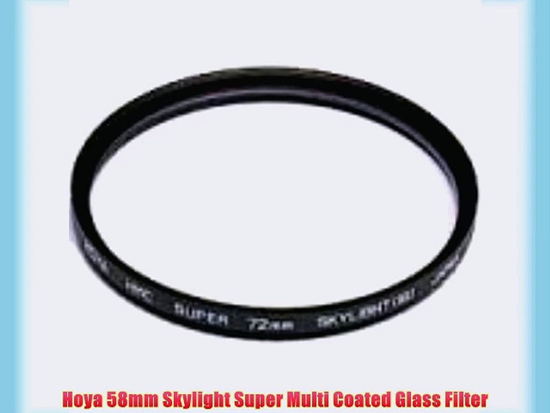 Hoya 55mm Circular Polarizer HD Hardened Glass 8-Layer Multi-Coated Filter