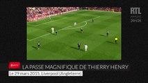 La passe magnifique de Thierry Henry