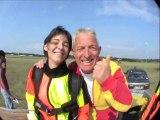 Saut en parachute tandem en Normandie - Abalone