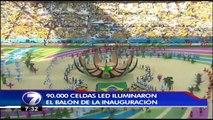 La Carpa: Inauguración Mundial Brasil 2014, Fiesta tica del mundial