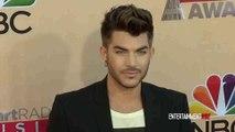 Adam Lambert arrives at 2015 iHeartRadio Music Awards Red carpet
