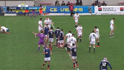 Championnat d'Europe U18 Rugby - 1/2 Finale: France vs Angleterre