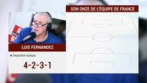 Luis Attaque / Le Onze de Luis Fernandez pour l'Equipe de France