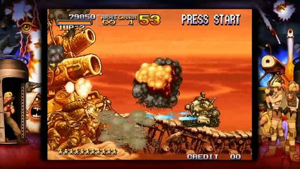Gameplay Trailer de Metal Slug 3