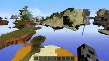 Minecraft Popularmmos - Mod Showcase - FUN WORLD MOD SURVIVAL ISLAND  PLANETS  SKYBLOCK