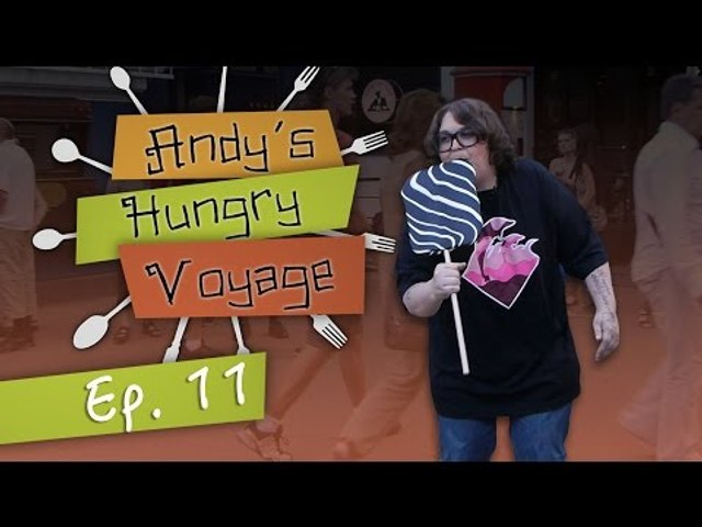 Andy Milonakis Visits the Copenhagen Carnival  - Andy's Hungry Voyage | Ep 11