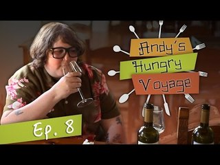 Andy Milonakis Goes Wine Tasting! - Andy's Hungry Voyage | Ep 8