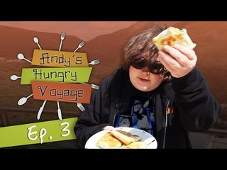 Andy Milonakis Makes Kalitsounia! - Andy's Hungry Voyage | Ep 3