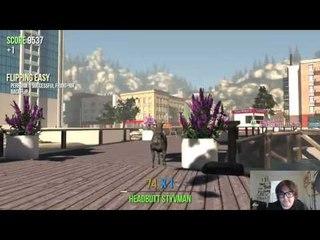 Goat Simulator Gameplay w stupid commentary