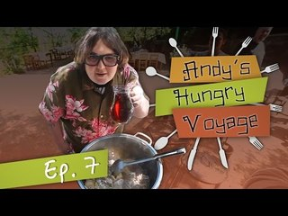 Greek Family Cookout with Andy Milonakis! - Andy's Hungry Voyage | Ep 7