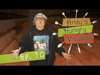 Andy Milonakis and the Cheese Factory! - Andy's Hungry Voyage | Ep 10