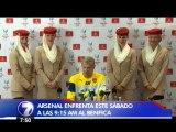 Campbell jugará este sábado su primer partido con el Arsenal
