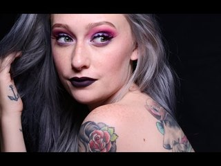 Pink & Purple Valentine's Day Makeup Tutorial- JkissaMakeup