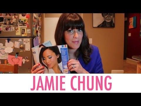 Jamie Chung Mark Maglog Cover Makeup Look | Jamie Greenberg Makeup