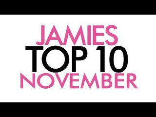Top Ten Favorites for November | Jamie Greenberg Makeup