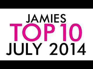 July Top Ten with some Discount Codes | Jamie Greenberg Makeup