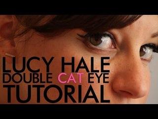 Lucy Hale Double Cat Eye Tutorial | Jamie Greenberg Makeup