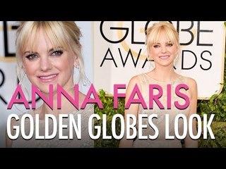 Anna Faris Golden Globes Look  | Jamie Greenberg Makeup Artist