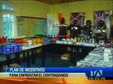 Plan de incentivos para enfrentar el contrabando