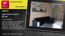 A vendre - appartement - LYON (69008) - 4 pièces - 81m²