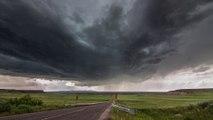 TimeLapse d'orages et de formations de nuages énormes!