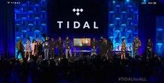 Tidal Opening (Beyonce Jay Z Rihanna Daft Punk Nicki Minaj Madonna Usher and more)